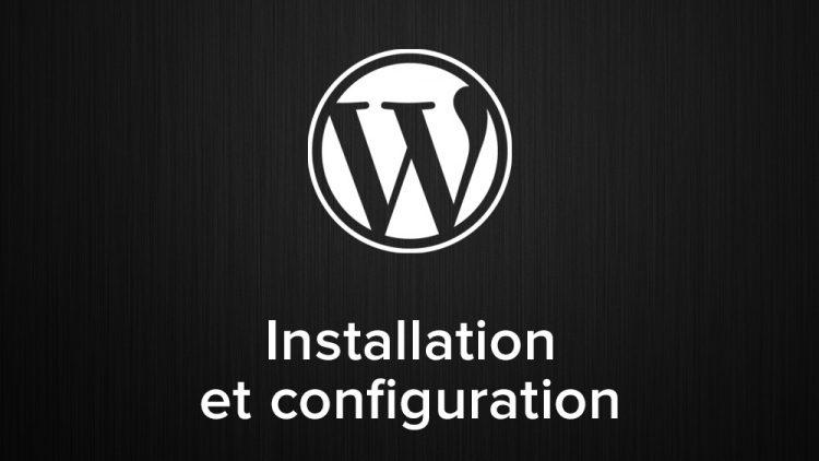 installation et configuration de wordpress